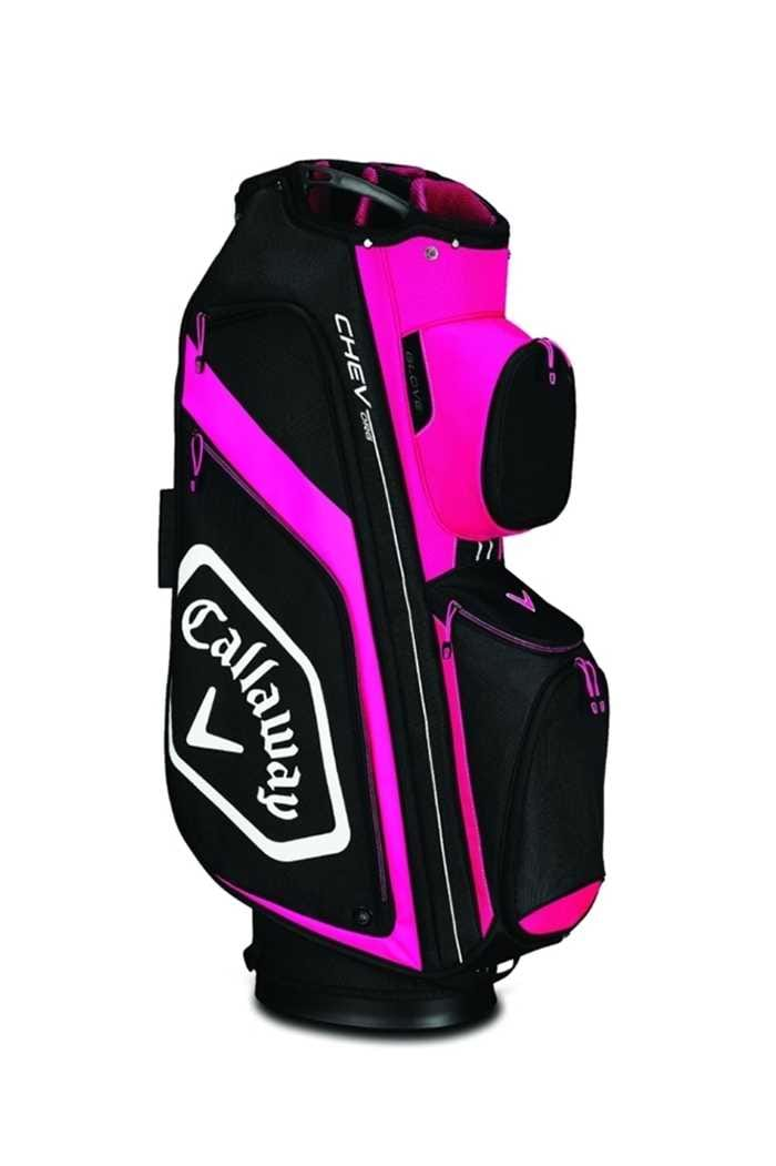 Picture of Callaway Golf Chev Org Cart Bag - Pink / Black / White