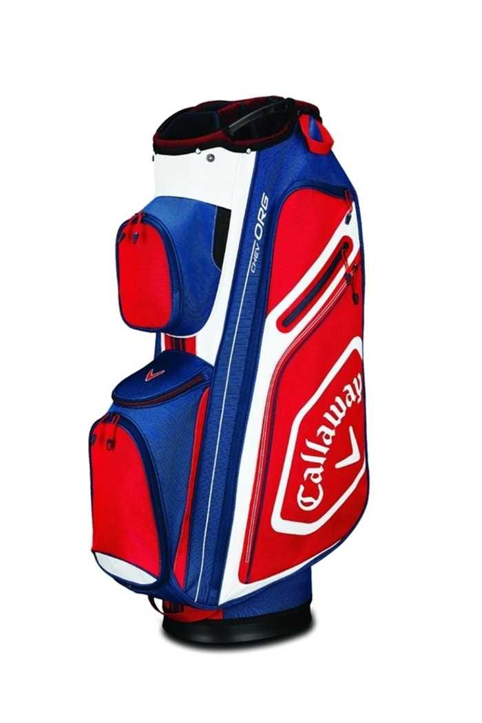 Picture of Callaway ZNS Golf Chev Org Cart Bag - Navy / White / Red
