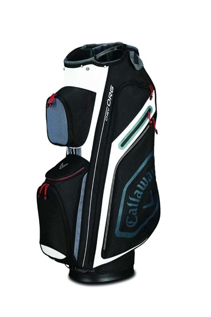 Picture of Callaway Golf ZNS Chev Org Cart Bag - Black / Titanium / White