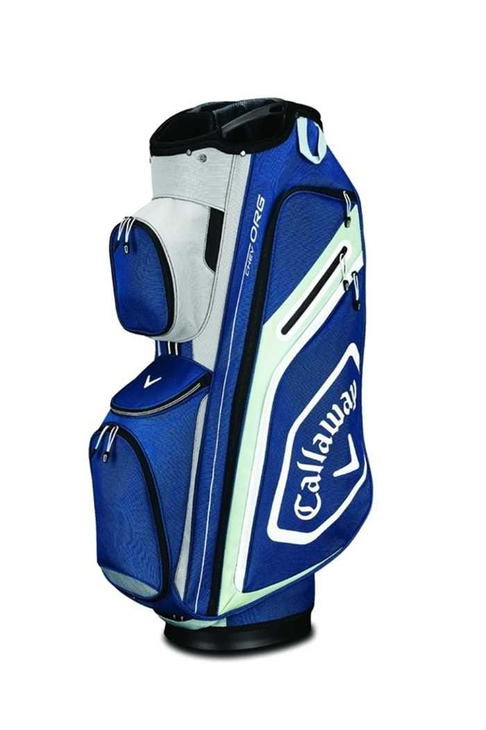 Picture of Callaway Golf ZNS Chev Org Cart Bag - Navy / Silver / White