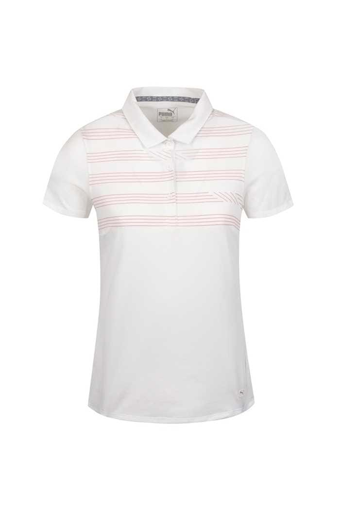 Picture of Puma Golf Women's On Par Polo Shirt - Bright White