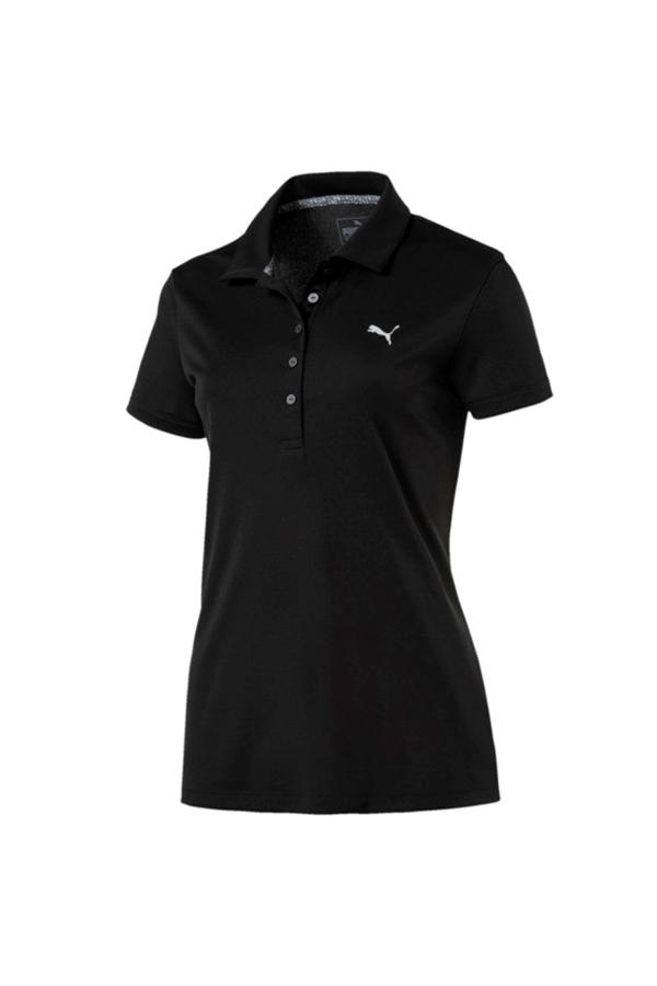 Picture of Puma Golf Ladies Pounce Polo Shirt - Puma Black