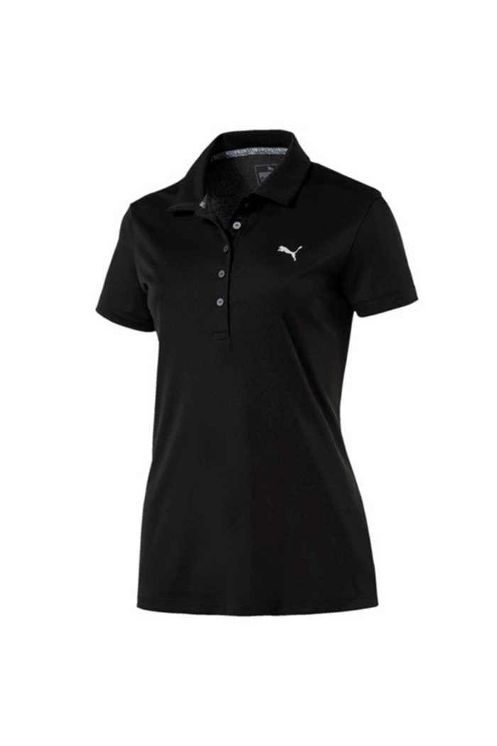 Picture of Puma Golf Ladies Pounce Polo Shirt - Puma Black