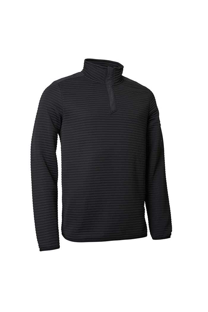 Picture of Abacus Men's Buddock Half Zip Fleece - Black