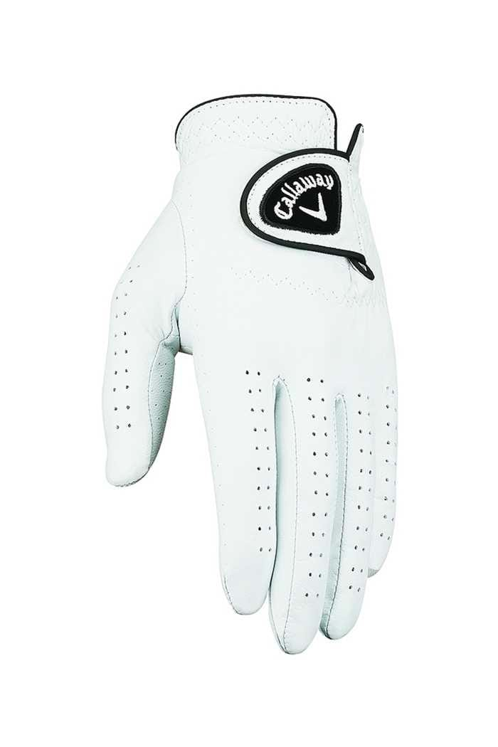 Picture of Callaway Check stock Ladies Dawn Patrol Leather Glove - White