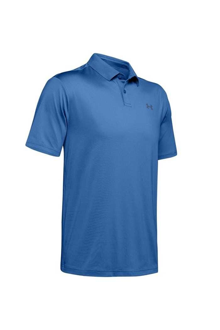 Picture of Under Armour ZNS UA Performance 2.0 Textured Polo Shirt - Blue 510
