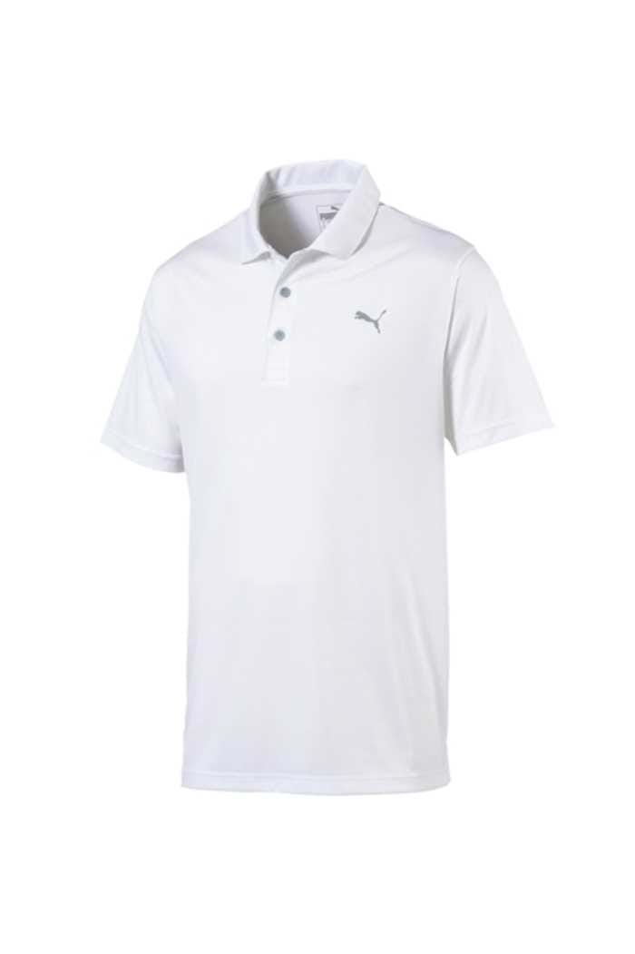 Picture of Puma Golf Men's Rotation Polo Shirt - Bright White