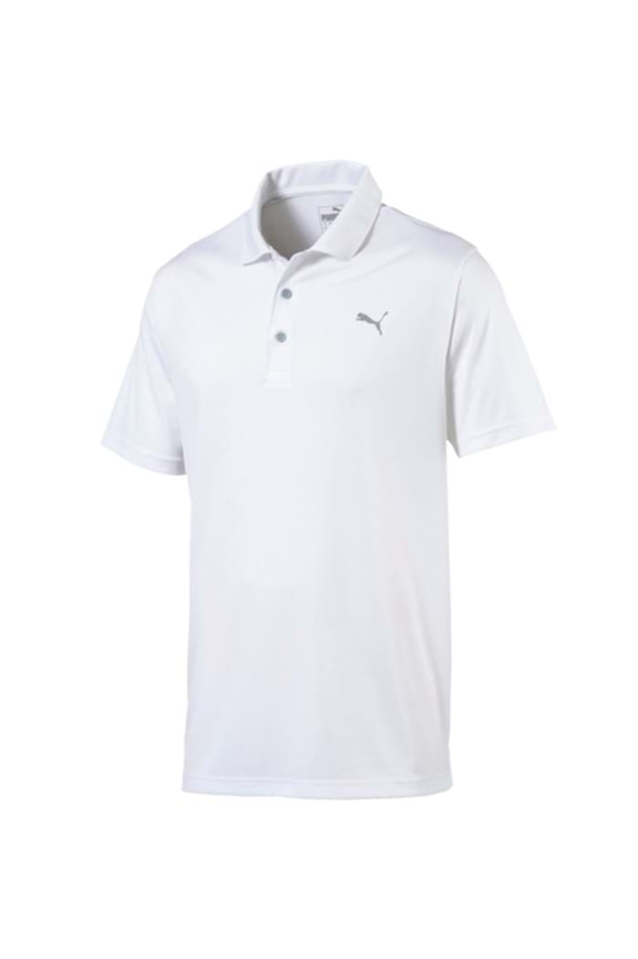 discount best cheap price reduced Puma Golf Men's Rotation Polo Shirt - Bright White - Puma Golf ...