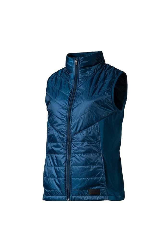 Picture of Puma Golf Women's Quilted Primaloft Vest / Gilet - Gibralter Sea