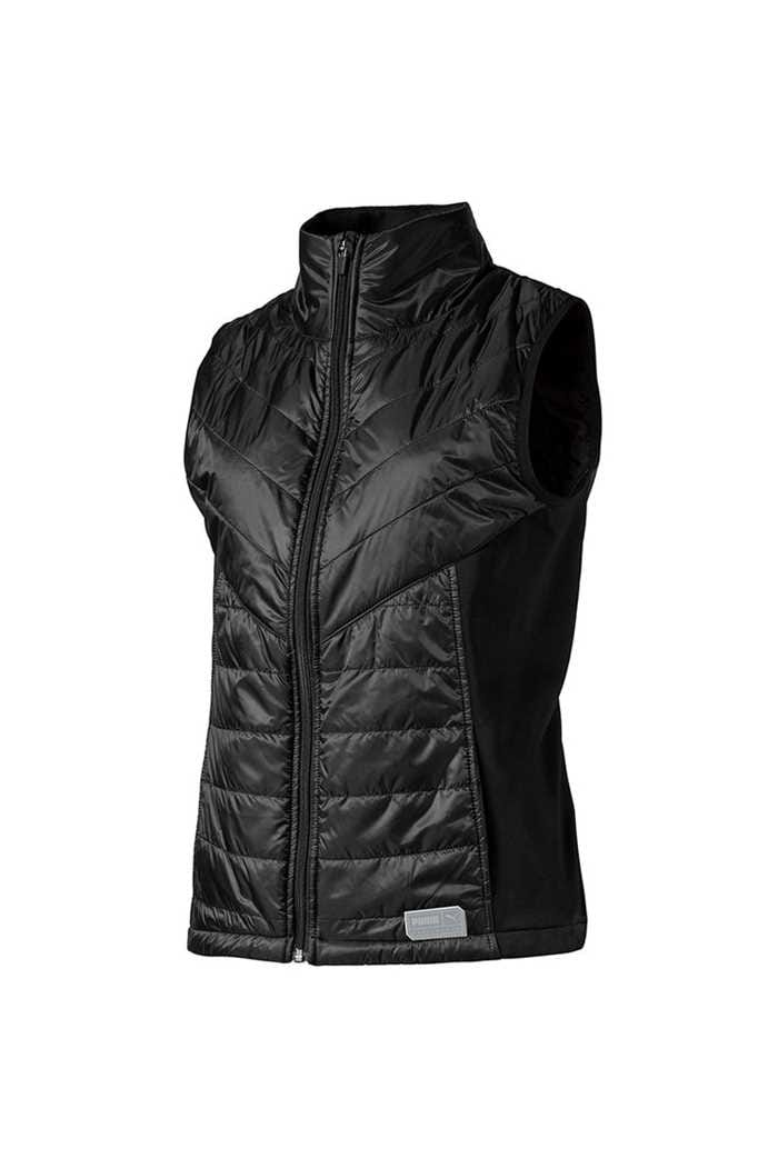 Picture of Puma Golf Women's Quilted Primaloft Vest / Gilet - Puma Black