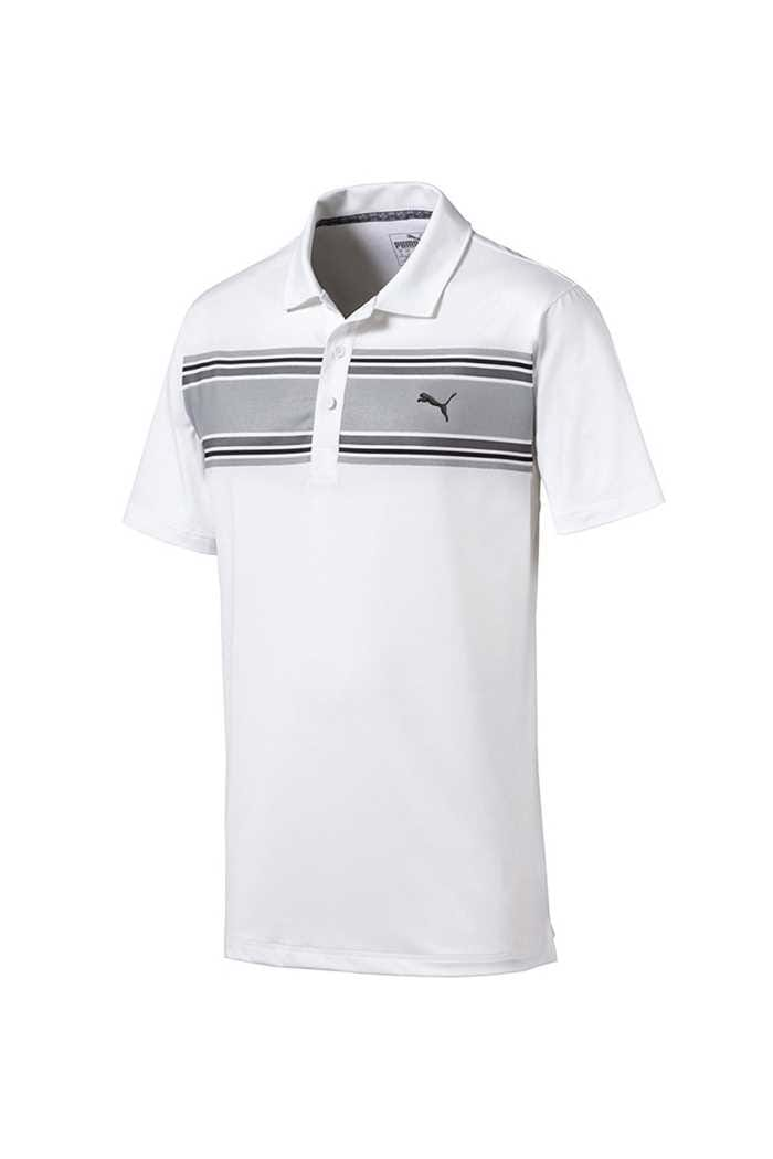 Picture of Puma Golf Men's Montauk Polo Shirt - Quiet Shade