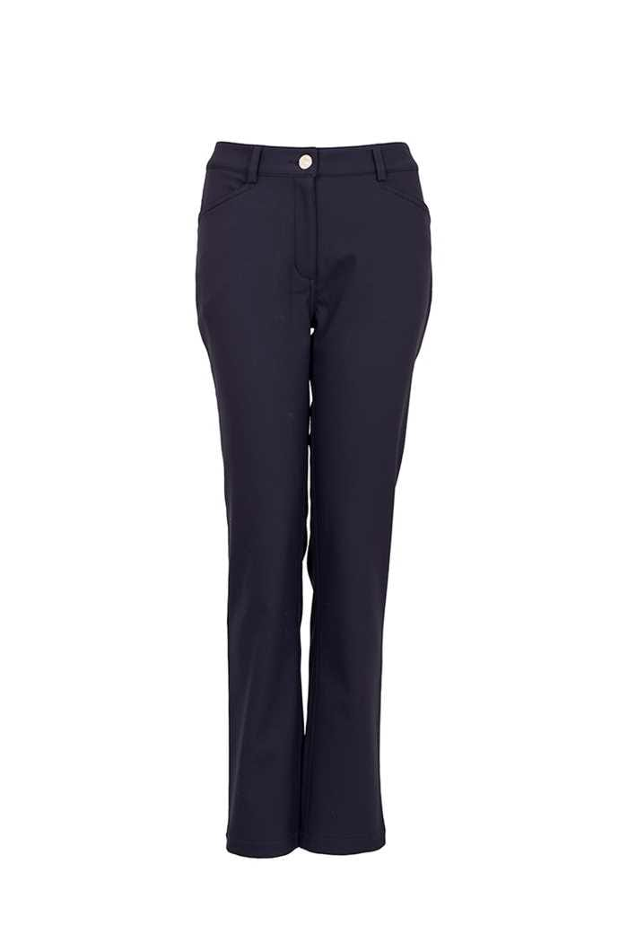 Picture of Green Lamb Ladies Weather Tech Trousers - Navy