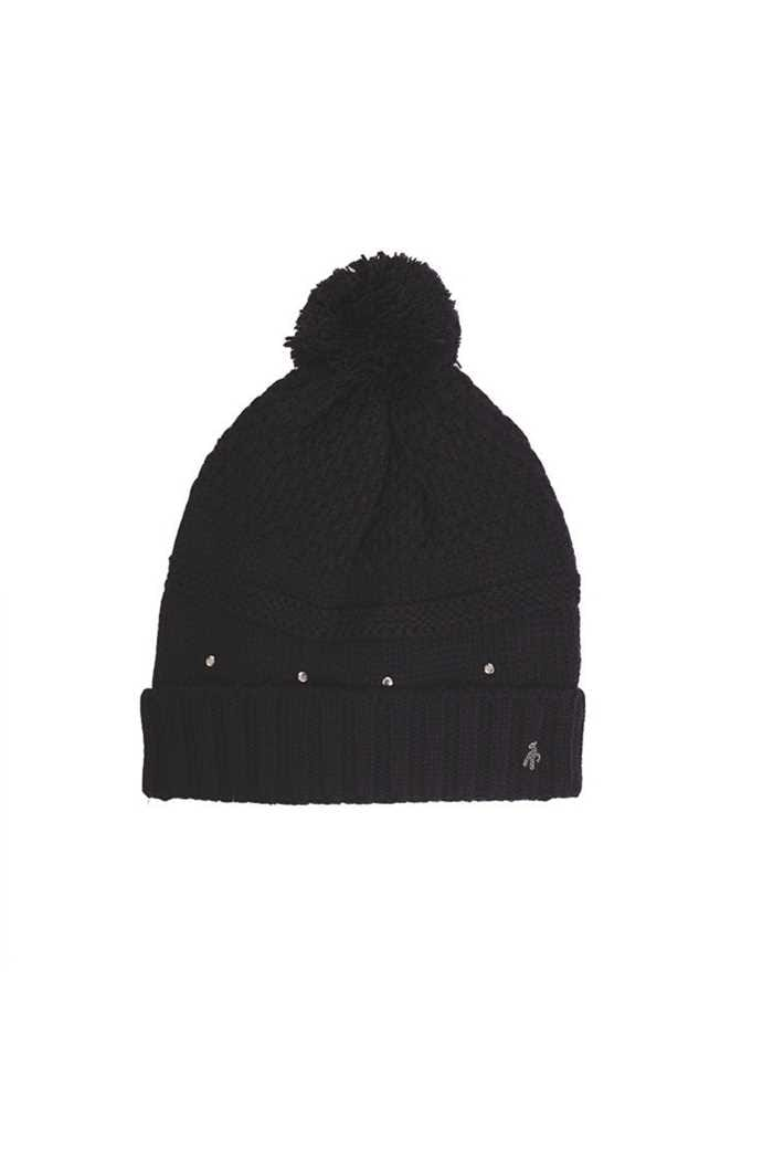 Picture of Green Lamb Ladies Inge Fleece Lined Beanie - Navy