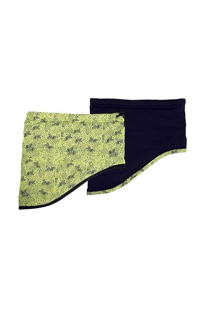 Picture of Green Lamb ZNS Ladies Ingrid Reversible Snood - Lime /Navy