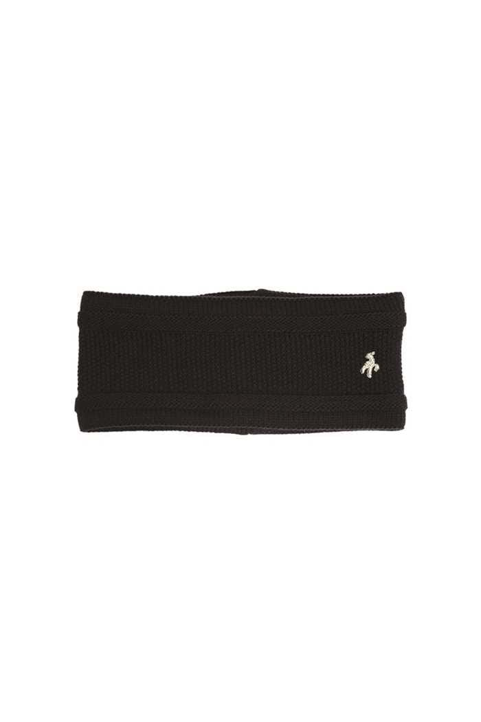 Picture of Green Lamb Ladies Irene Fleece Lined Headband - Black