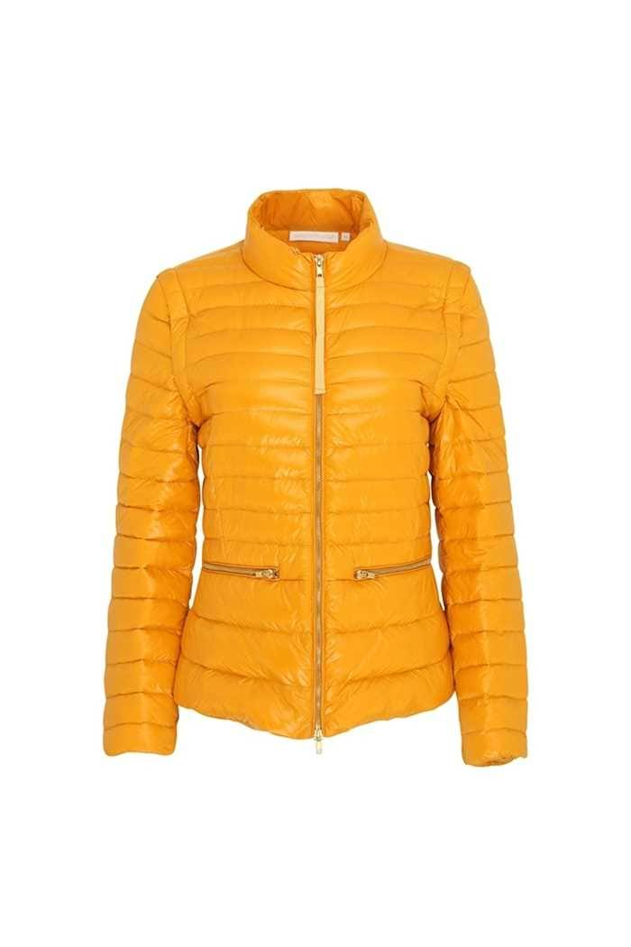 Picture of Swing out Sister Ladies Eloise Water Repellant Jacket / Gilet - Mellow Gold