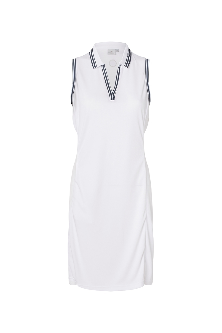 Picture of Cross Sportswear Ladies W Nostalgia Dress - White
