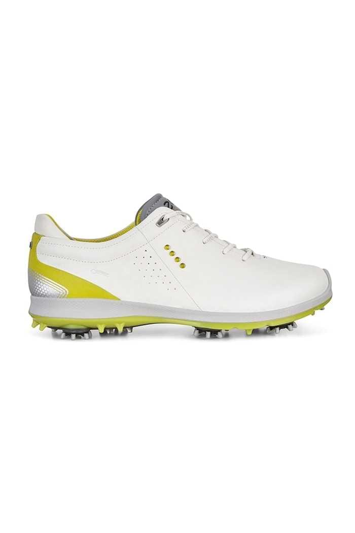 Picture of Ecco zns  Men's Golf Biom G 2 Golf Shoes - White / Kiwi
