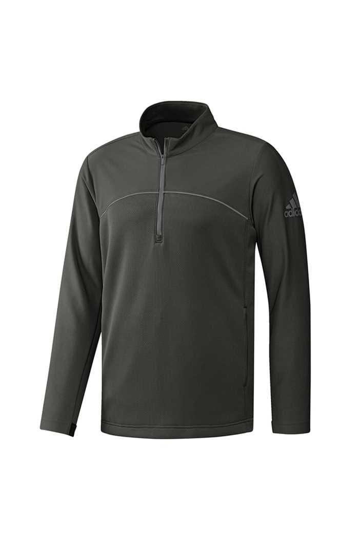 Picture of adidas Men's Go To Adapt 1/4 Zip Sweater - Legend Green
