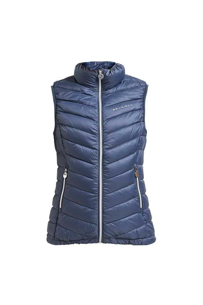 Picture of Rohnisch zns Ladies Light Down Vest - Dusty Blue