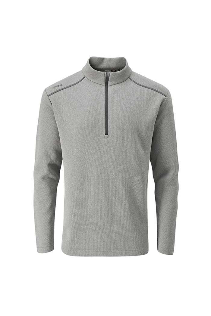Picture of Ping Men's Ramsey 1/4 Zip Sweater - Ash Marl