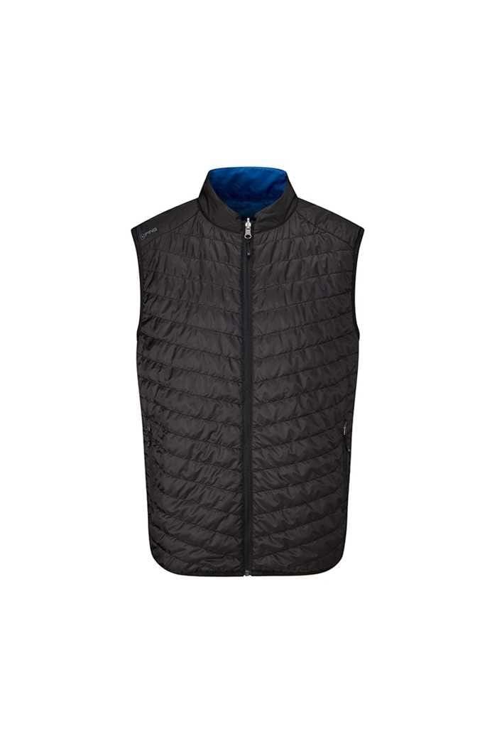 Picture of Ping Golf Men's Norse Primaloft Reversible Vest / Gilet - Black / Snorkel Blue
