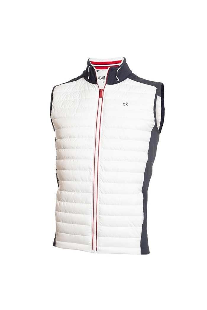 Picture of Calvin Klein ZNS Men's Golf Hybrid Vest / Gilet - Navy / White