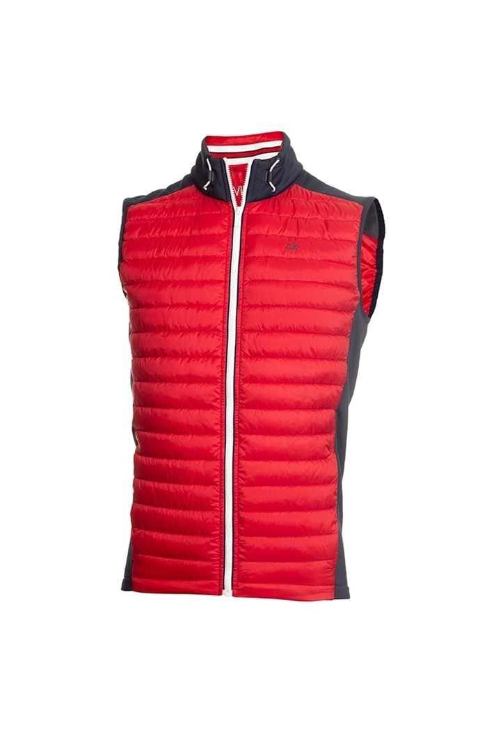 Picture of Calvin Klein zns Men's Golf Hybrid Vest / Gilet - Navy / Red
