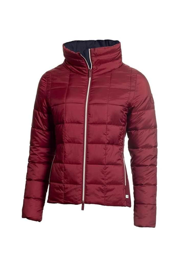 Picture of Calvin Klein zns  Golf Ladies Mira Jacket - Burgundy