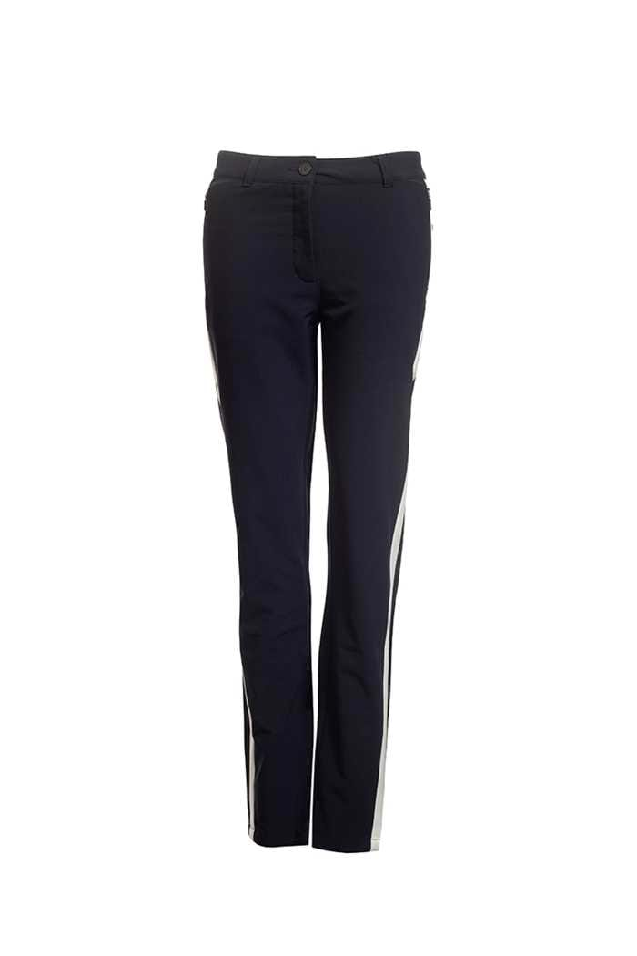 Picture of Calvin Klein Golf Ladies Vega Trousers - Navy / White