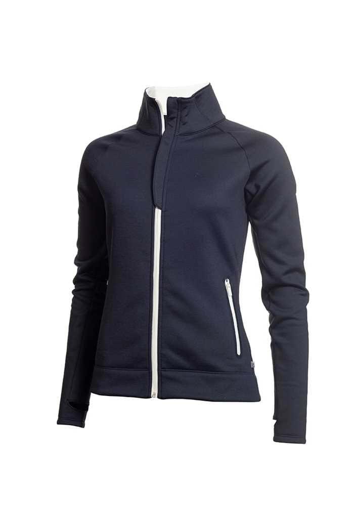 Picture of Calvin Klein Golf Ladies Cassio Stretch Top / Jacket - Navy