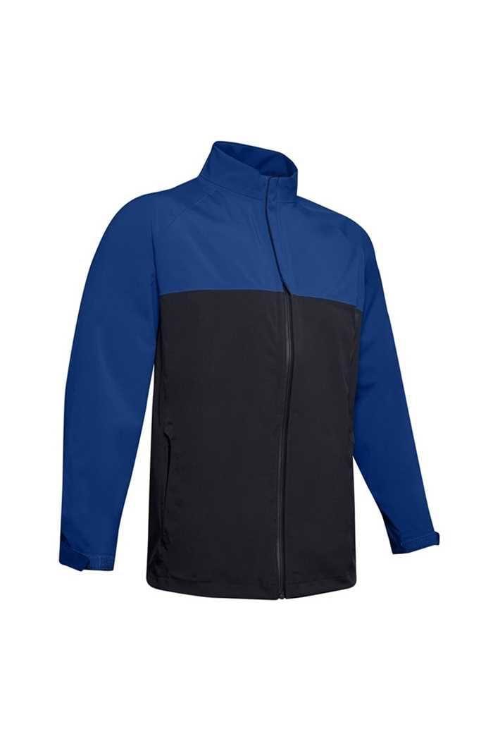 Picture of Under Armour UA Men's Waterproof Golf Rain Jacket - Blue 400