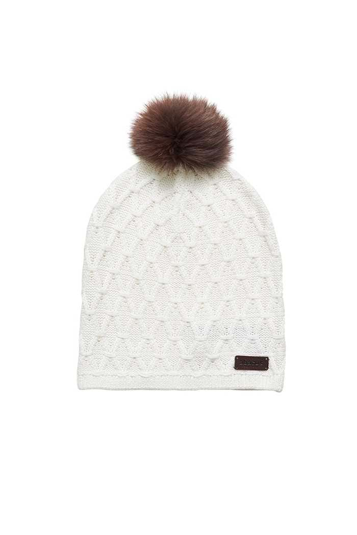Picture of Abacus Ladies Avondale Knitted Hat - Vanilla 680