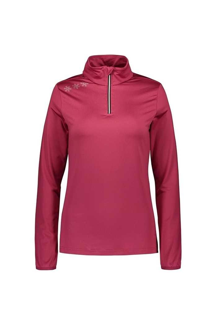Picture of Catmandoo Ladies Slona 1/2 Zip Midlayer Top - Pink