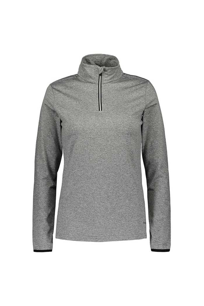 Picture of Catmandoo Ladies Slona 1/2 Zip Midlayer Top - Grey