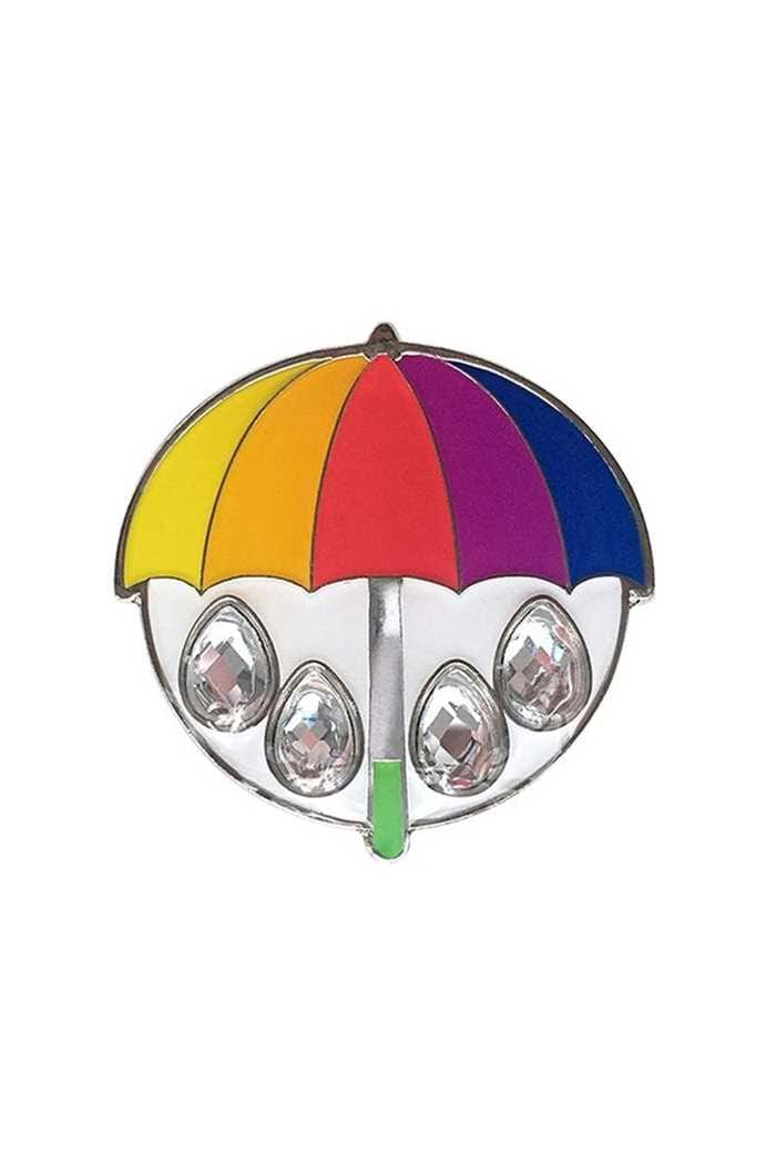 Picture of Surprizeshop Individual Ball Marker - Coloured Crystal Golf Umbrella