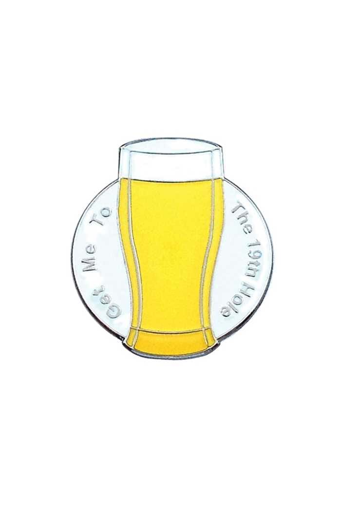 Picture of Surprizeshop Individual Ball Marker - Get me to the 19th Hole Beer