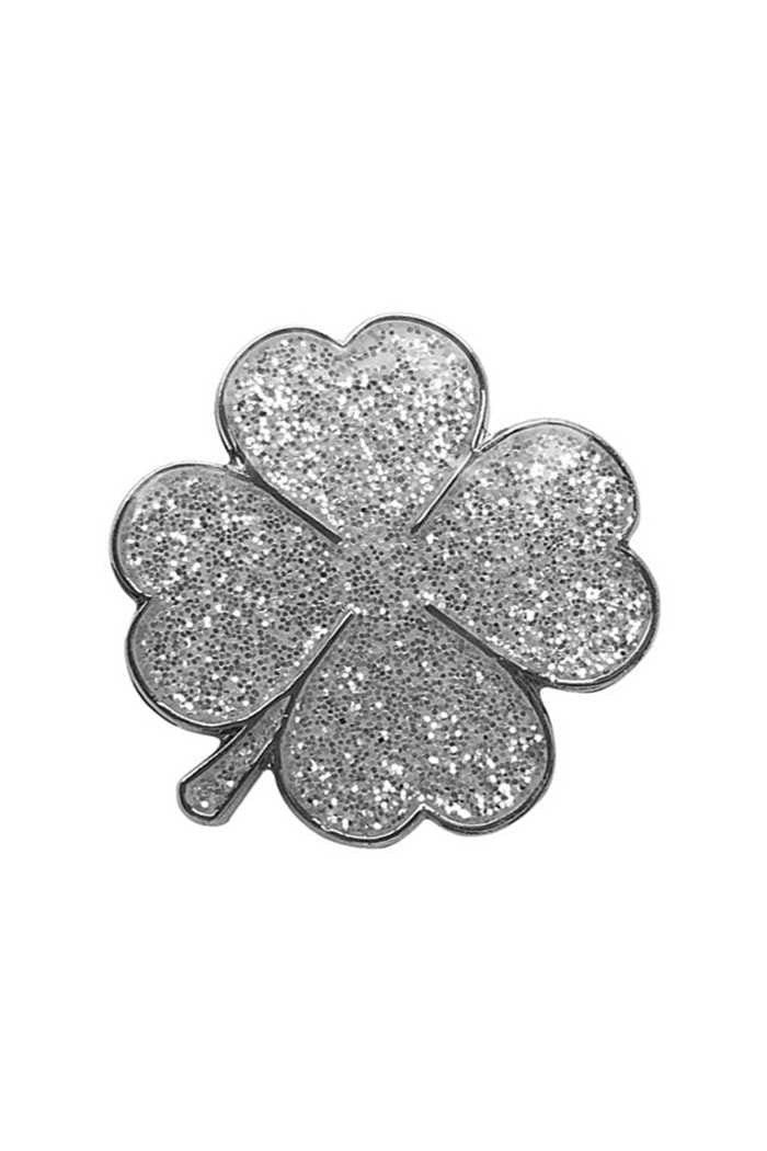 Picture of Suprizeshop Individual Ball Marker - Four Leaf Clover Silver