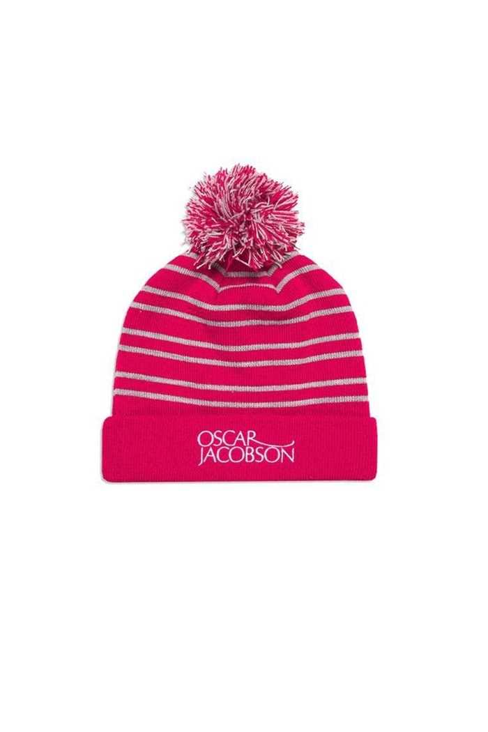 Picture of Oscar Jacobson Men's Thor Bobble Hat - Red 622