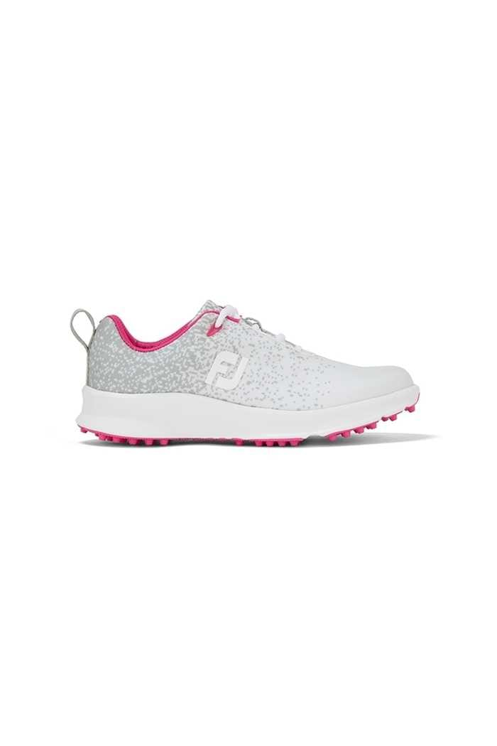 Picture of Footjoy Ladies Leisure Golf Shoes - Silver / White / Fuchsia