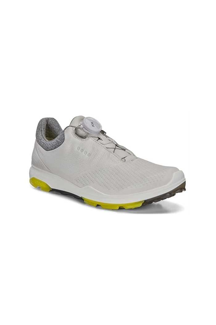 Picture of Ecco Ladies Biom Hybrid 3 Boa Golf Shoes - White / Canary