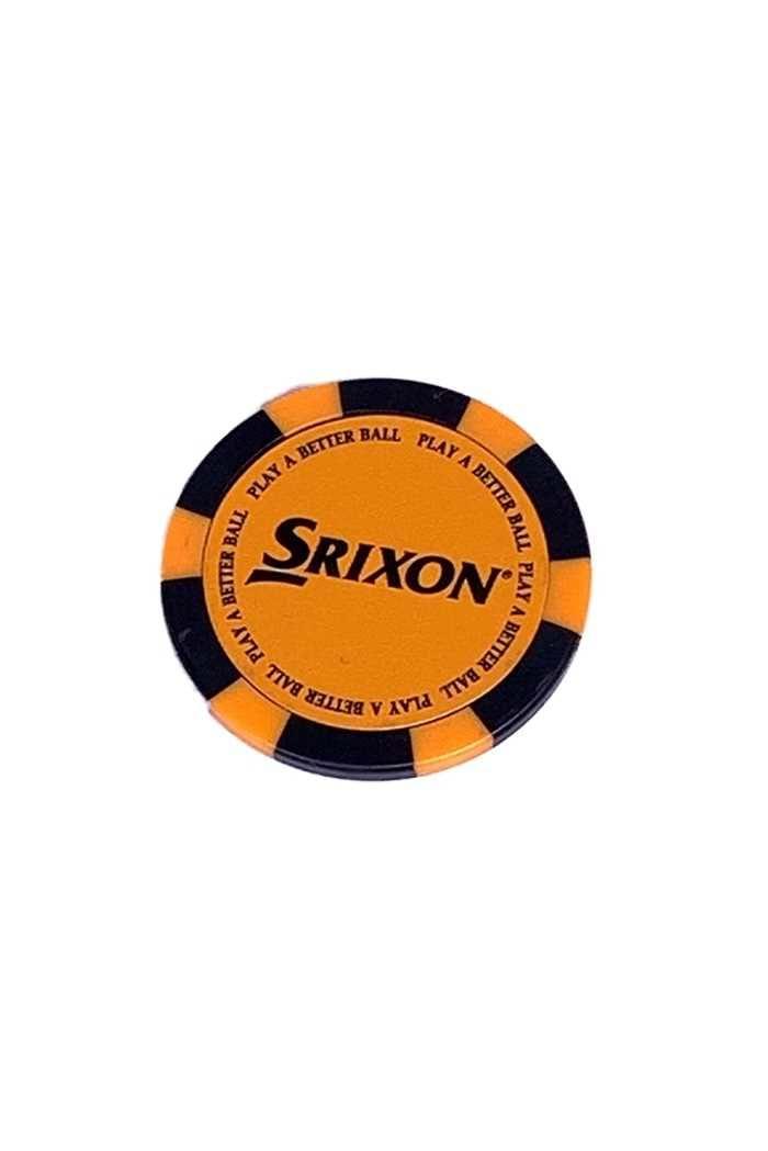 Picture of Srixon Poker Chip Ball Marker - Orange / Black