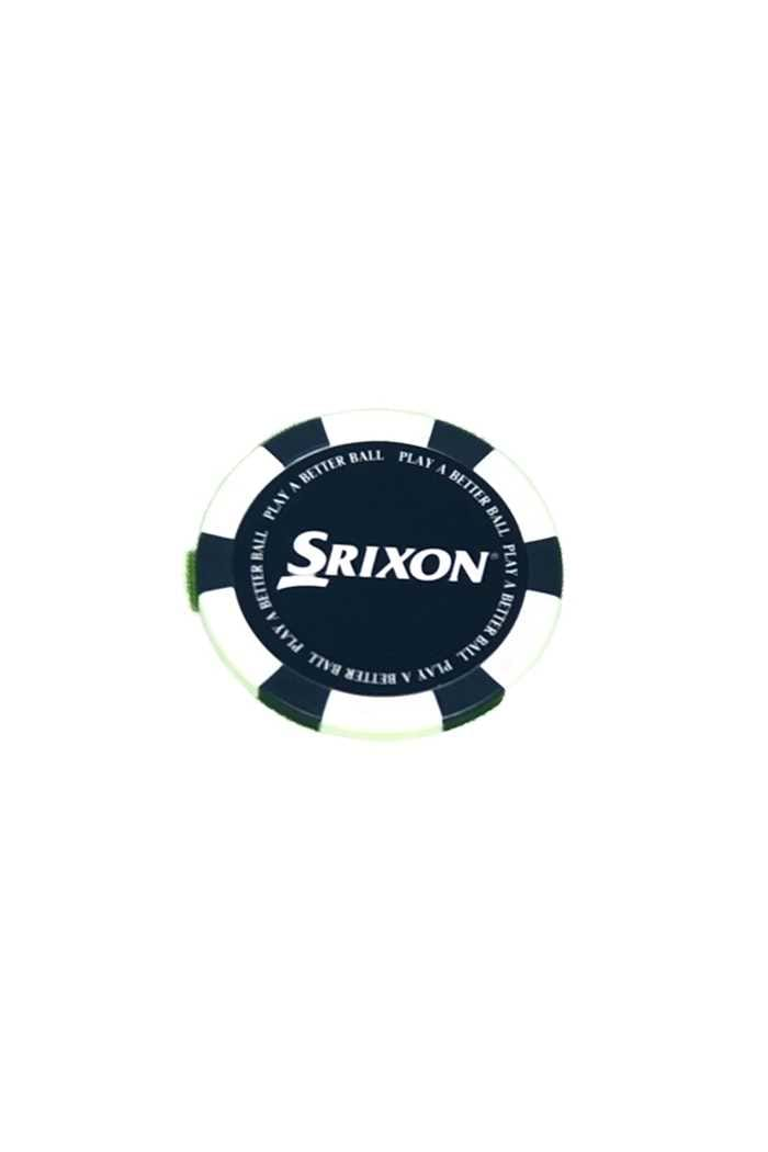 Picture of Srixon Poker Chip Ball Marker - White / Blue