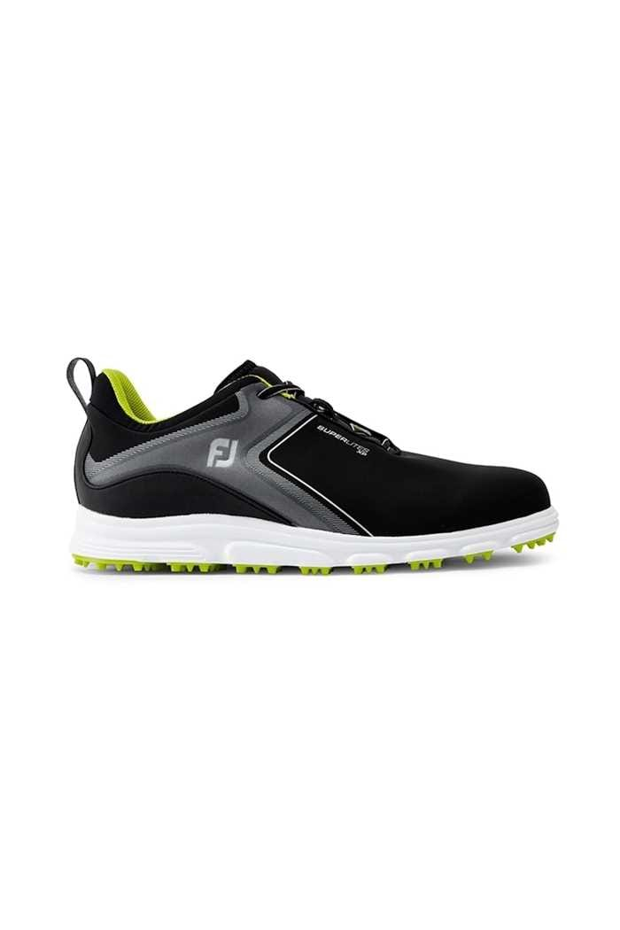 Picture of Footjoy Men's SuperLites XP Golf Shoes - Black / Lime