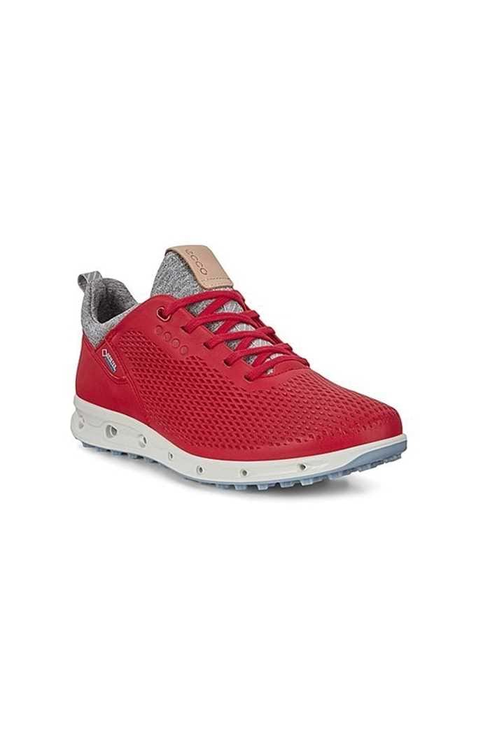 Picture of Ecco Womens Golf Cool Pro Golf Shoes - Tomato