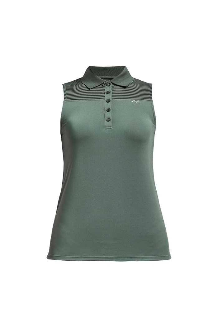 Picture of Rohnisch Ladies Miko Sleeveless Polo Shirt - Palm Green