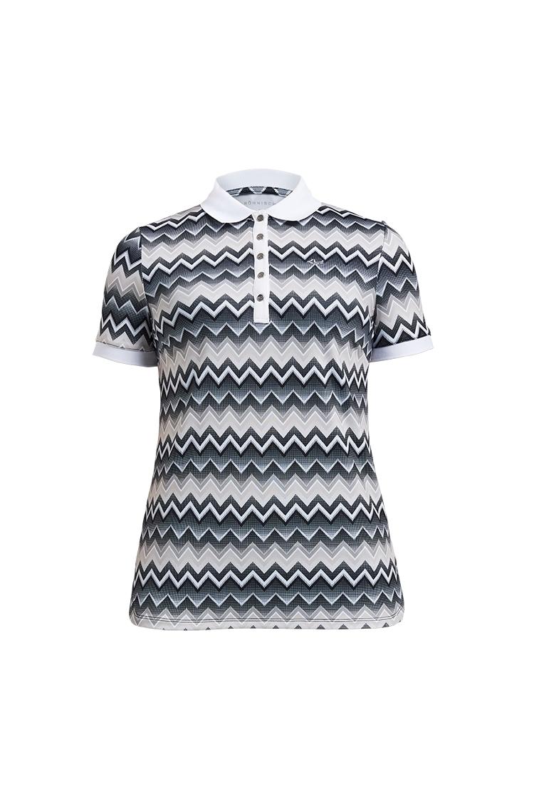 Picture of Rohnisch Ladies Element Polo Shirt - Zigzag Sand