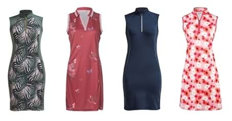 2020 ladies golf trends - golfing dresses