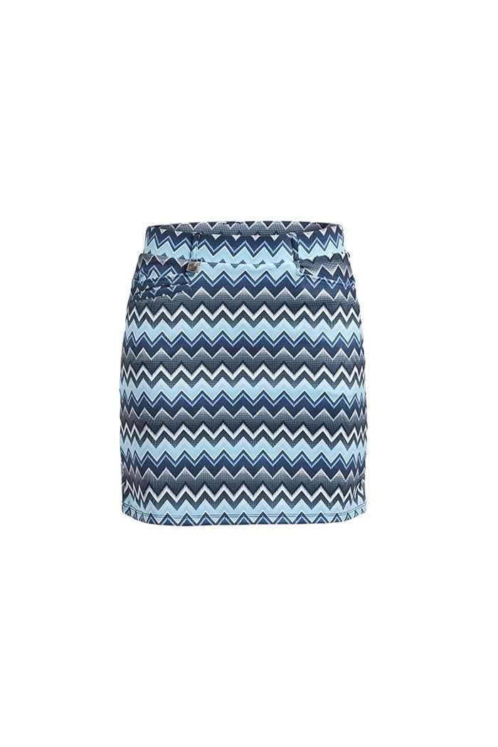 Picture of Rohnisch Ladies Move Skort - Zigzag Blue