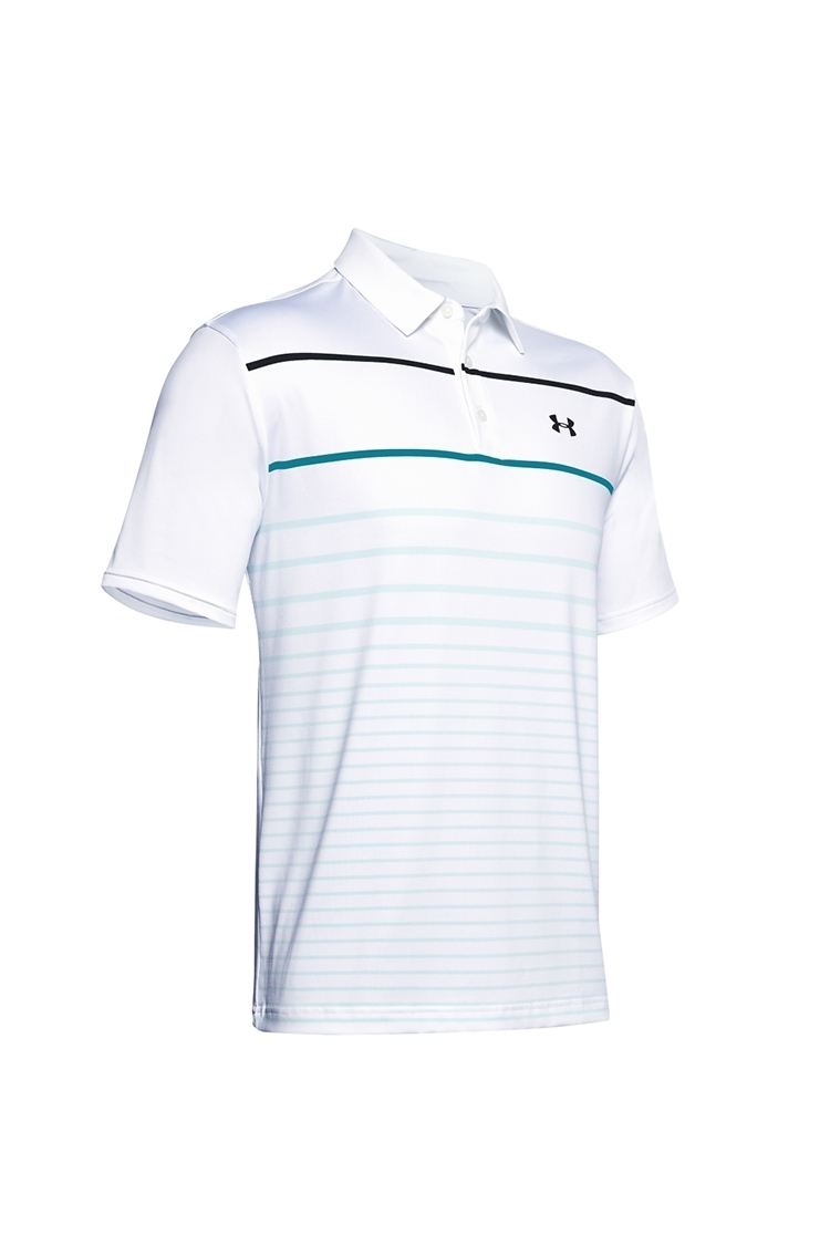 Picture of Under Armour Men's UA Playoff 2.0 Polo Shirt - White 127